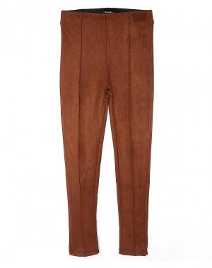30033 светло коричневые Incebelli лосины замшевые весенние стрейчевые (S-XL, 4 ед.)