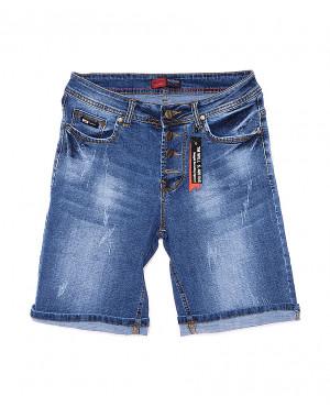 A 0151-15 Relucky шорты джинсовые женские батальные стрейчевые (28-33, 6 ед.)