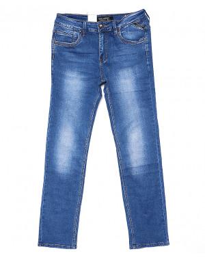 9129 God Baron джинсы мужские классические батальные весенние стрейчевые (32-38, 8 ед.)