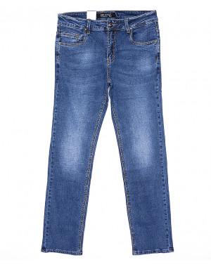 9140 God Baron джинсы мужские классические батальные весенние стрейчевые (32-42, 8 ед.)