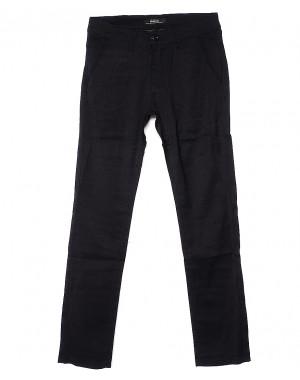 0375-1 Feerars брюки мужские черные весенние стрейчевые (29-38, 8 ед.)