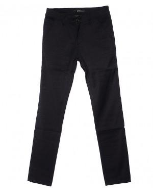 0373-1 Feerars брюки мужские молодежные черные весенние стрейчевые (28-36, 8 ед.)
