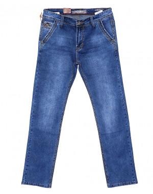 9089 Baron джинсы мужские батальные с косым карманом весенние стрейчевые (32-36, 8 ед.)