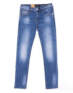 2089 Fang джинсы мужские молодежные с теркой весенние стрейч-котон (28-34, 8 ед.)