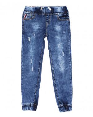0099 Miss Happy джинсы на девочку на резинке весенние стрейчевые (23-28, 6 ед.)