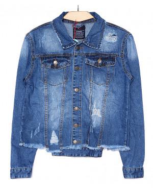 A 0208-9 Relucky куртка джинсовая женская весенняя котоновая (S-XXXL, 6 ед.)