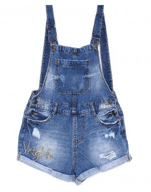 Y 0029-10 Relucky комбинезон-шорты джинсовый женский котоновый (25-30, 6 ед.)