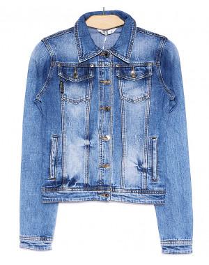0329 Zijinyan куртка джинсовая женская весенняя стрейч-котон (S-XXXL, 6 ед.)