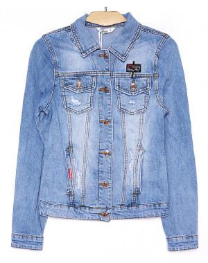 8910 Zijinyan куртка джинсовая женская весенняя стрейч-котон (S-XXXL, 6 ед.)