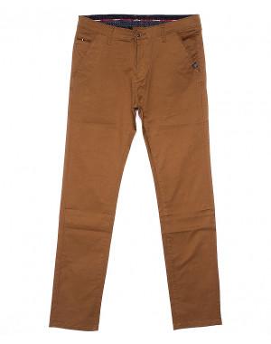 0133-5 Disvocas брюки мужские светло-коричневые весенние стрейчевые (29-38, 8 ед.)