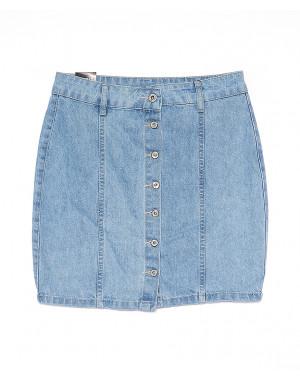 0054-1 (E54(1)) Ondi юбка джинсовая на пуговицах котоновая (36-42, евро, 5 ед.)