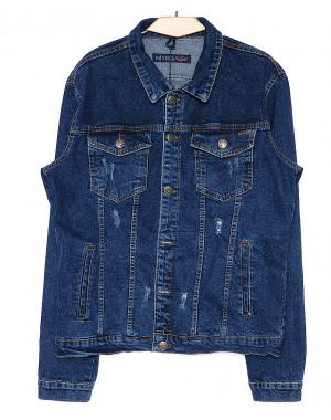 8009 In Yesir куртка джинсовая мужская с царапками весенняя котоновая (S-XXL, 6 ед.)