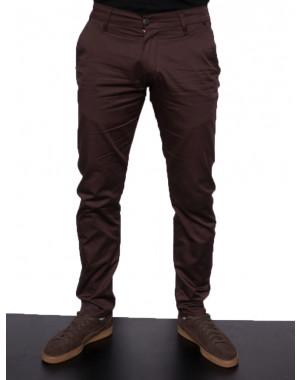 0972-1 Big Wood брюки мужские коричневые весенние стрейчевые (29-38, 8 ед.)