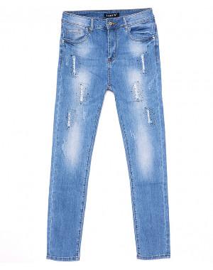 1274 Lady N джинсы женские батальные стильные летние стрейчевые (30-36, 6 ед.)