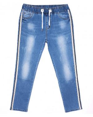 1278 Lady N джинсы женские батальные на резинке летние стрейчевые (28-33, 6 ед.)