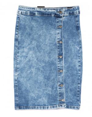 0050 (E50) Ondi юбка джинсовая на пуговицах стрейчевая (36-42, евро, 5 ед.)