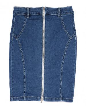 0051-2 (E51 (2)) Ondi юбка джинсовая на молнии стрейчевая (36-42, евро, 5 ед.)