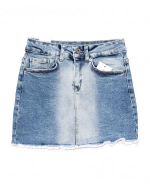 0058-2 (E58 (2)) Ondi юбка джинсовая стильная стрейчевая (36-42, евро, 5 ед.)