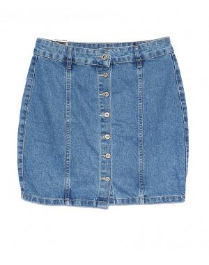0054-2 (E54 (2)) Ondi юбка джинсовая на пуговицах котоновая (36-42, евро, 5 ед.)