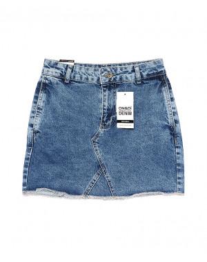 0601-3 (601 (3)) Ondi юбка джинсовая котоновая (36-42, евро, 5 ед.)