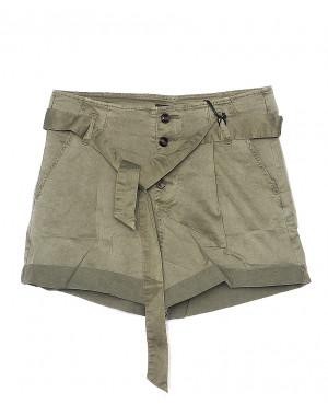 0156-4 Saint Wish шорты женские цвета хаки стрейчевые (S-2XL, 5 ед.)