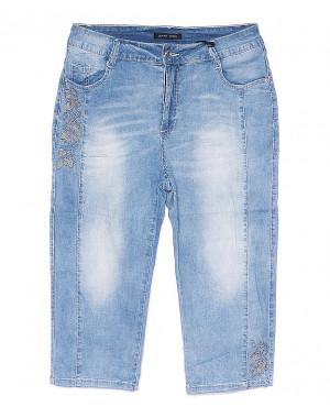 0122 Saint Wish шорты джинсовые женские батальные с декоративной отделкой стрейчевые (31-38, 6 ед.)