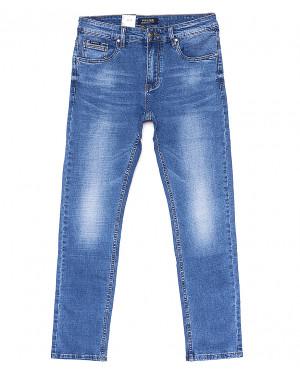 0756 Virsacc джинсы мужские батальные с теркой летние стрейчевые (31-38, 8 ед.)