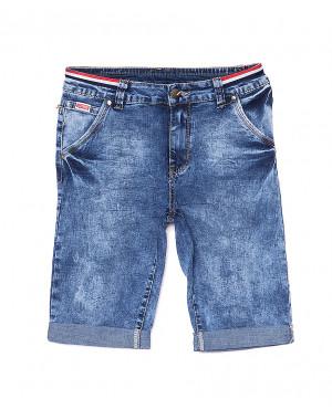5064 New jeans шорты джинсовые мужские молодежные стрейчевые (28-36, 8 ед.)