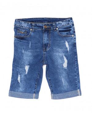 5082 New jeans шорты джинсовые мужские молодежные с рванкой и царапками стрейчевые (28-36, 8 ед.)