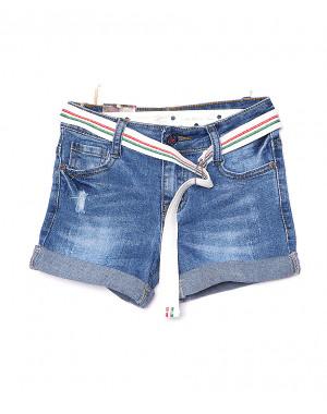 0112 Miss Happy шорты джинсовые на девочку стрейчевые (23-28, 6 ед.)
