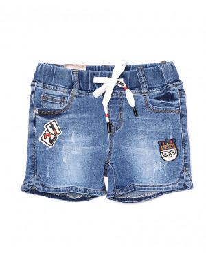 0106 Miss Happy шорты джинсовые на девочку стрейчевые (23-28, 6 ед.)