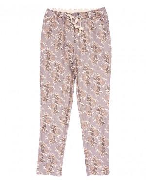 5221-4 Jinbaulai брюки женские батальные с принтом летние стрейчевые (31-36, 6 ед.)