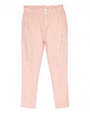 0219-3 Yimeite брюки женские цвета пудра летние стрейчевые (25-30, 6 ед.)
