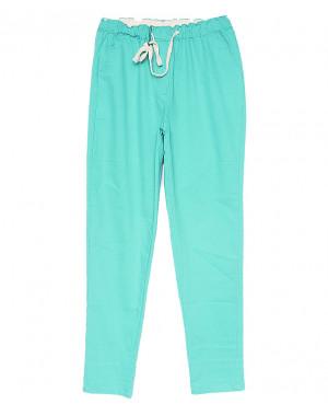 5206-9 Jinbaulai брюки женские голубые летние стрейчевые (25-30, 6 ед.)