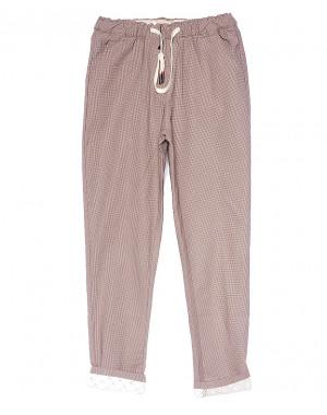 5217-4 Jinbaulai брюки женские в мелкую клетку летние стрейчевые (25-30, 6 ед.)