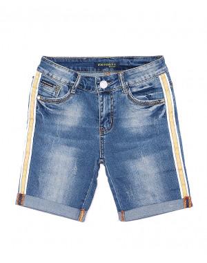 8202 Victory.C шорты джинсовые женские с царапками стрейчевые (25-30, 6 ед.)