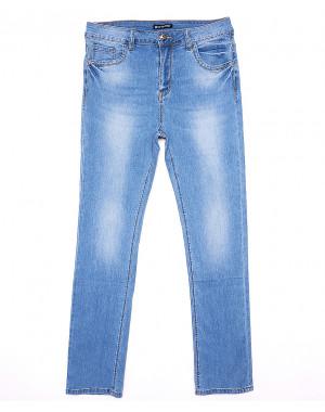 9303 LDM джинсы женские батальные с теркой летние стрейчевые (31-38, 6 ед.)