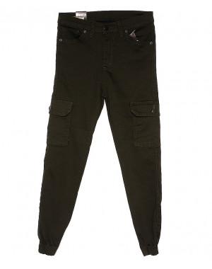 0481 Ondi брюки женские на манжете с боковыми карманами весенние стрейчевые (27-32, 6 ед.)