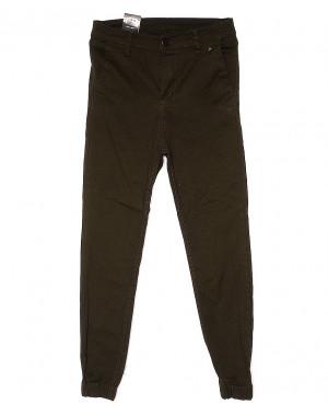 0438 Ondi брюки женские на манжете с боковыми карманами весенние стрейчевые (27-32, 6 ед.)