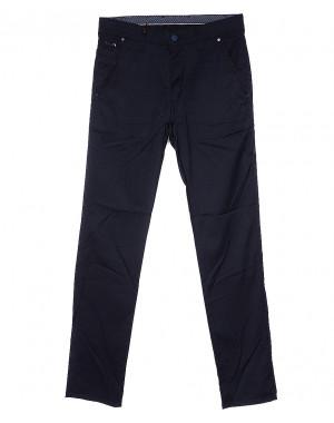0970 K.L.T. Big Rodoc брюки мужские темно-синие весенние стрейч-котон (30-36, 8 ед.)