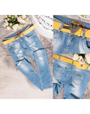 0495 Armani джинсы женские зауженные весенние стрейчевые (26-30, 5 ед.)