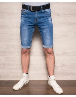 6041-01 Resalsa шорты джинсовые мужские молодежные с теркой стрейчевые (28,28, 2 ед.)