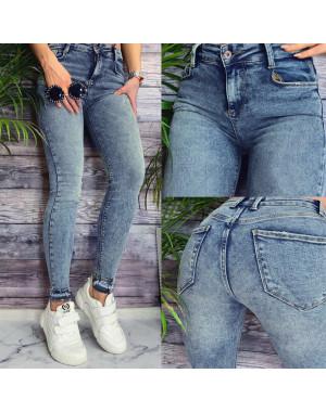 0004 Whats up 90s джинсы женские зауженные весенние стрейчевые (26-32, 7 ед.)