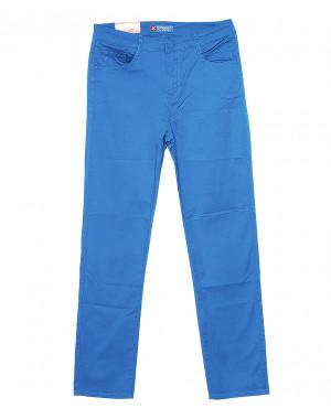 9913-W Sunbird брюки женские батальные синие летние стрейчевые (31-38, 6 ед.)