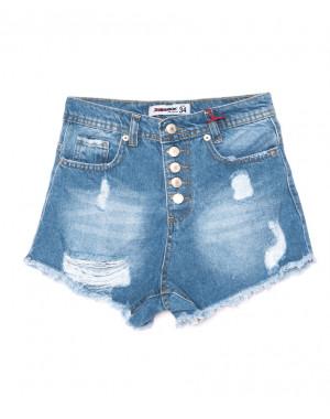 0760 D.mavi Xray шорты женские на пуговицах рванка коттон (34-42, 5 ед.)
