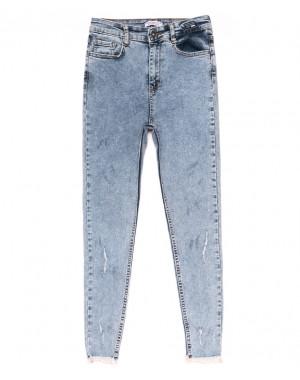0906 yuksekbel Woox джинсы женские стильные весенние стрейчевые (26-31, 6 ед.)