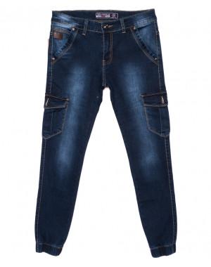 6111 Bagrbo джинсы мужские молодежные на манжете осенние стрейчевые (28-36, 8 ед.)
