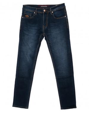 0584-77 Likgass джинсы мужские синие осенние стрейчевые (30-38, 7 ед.)
