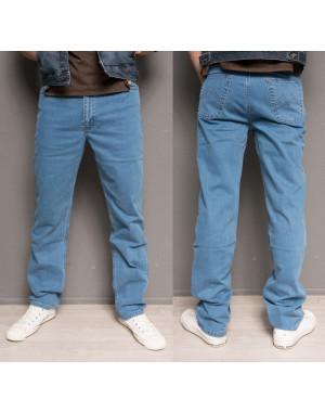 0435-B L.V.D. джинсы мужские батальные классические осенние стрейч-котон (36-42, 6 ед.)