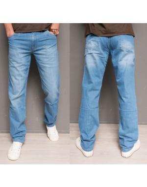 0499 L.V.D. джинсы мужские голубые весенние котоновые (30-36, 6 ед.)